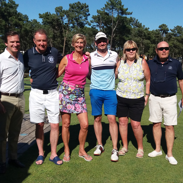 Tee Times Golf Lisbon Tournament 2019 - Photo 15 Winning Team 1st Day
