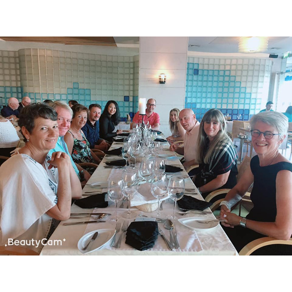 Tee Times Golf Lisbon Tournament 2019 - Photo 28 3rd Day Dinner