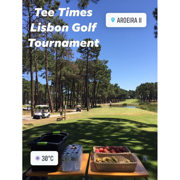 Tee Times Golf Lisbon Tournament 2019 - Photo 16 Refreshments Station