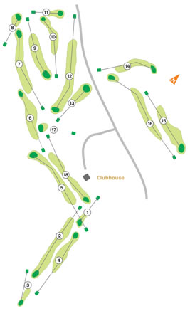 Course Map Lisbon Sports Club