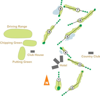 Course Map Penha Longa Monastery